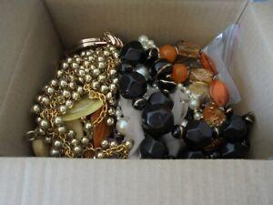 job lot mixed costume jewellery