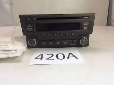 13 14 NISSAN SENTRA AM FM RADIO AUDIO RECEIVER MP3 CD PLAYER AUX OEM 420A I