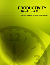 Productivity Strategies eBook Pdf+ 10 Free Ebooks