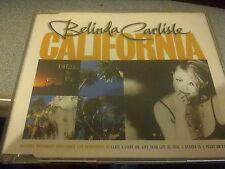 Belinda Carlisle – California (1997 POP/ROCK CD SINGLE)(EX CONDITION)