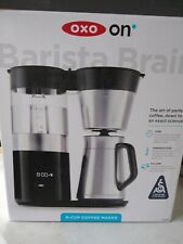 OXO 8710100-on Barista Brain 9-Cup Coffee Maker used