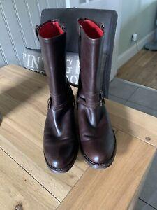 Moloh Ladies 3/4 Leather Boots 38