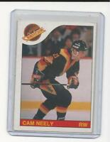 O PEE CHEE 85/86  CAM NEELY HOCKEY CARD  # 228  VANCOUVER CANUCKS