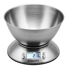 Etekcity 5kg Digital Kitchen Scales with 2,15 Litre Removable Bowl, Digital