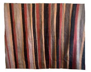 Beautiful 19th Cent hand woven wool Turkish kilim rug 5622