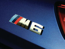BMW E63 E64 GENUINE M6 TRUNK LID CHROME EMBLEM BADGE LOGO SIGN 7898225