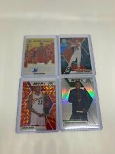 2019-20 Mosaic Genesis Silver Orange Reactive Scripts Lebron Curry Giannis Ja