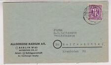 Bizone/AM-Post, 15b EF, Schöppenstedt, 30.11.45