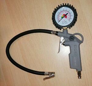 Aerotec - Druckluft Reifenfüller Messgerät Manometer bis 12 bar