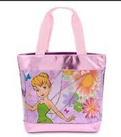 New Disney Store Tinker Bell  Fairy Fairies Pixie Swim Bag Beach Pool Tote