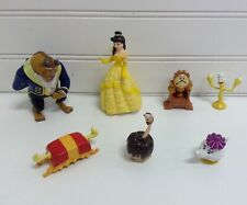 Disney Beauty And The Beast Movie Figures Lot Set Of 7
