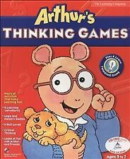 Arthur's Thinking Games PC Video Game Computer Software Francine Marc Brown OOP