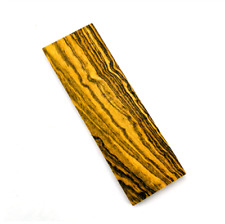 Mexico Yellow Rosewood Knife Handle Wood Material Woodwork DIY 120x40x30mm