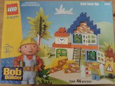 NEW Lego Bob The Builder Clock Tower Bob-PVC FREE - PMADE IN SWITZERLAND