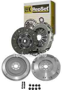 NEW FLYWHEEL AND LUK CLUTCH KIT WITH BOLTS FOR TOYOTA AVENSIS 2.0 D4D 2.0D4D