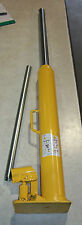 2 TON LONG RAM HYDRAULIC CYLINDER JACK FLAT BOTTOM HAND PUMP - MADE IN JAPAN