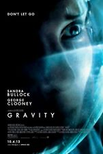GRAVITY - 2013- orig D/S movie poster - Style C - SANDRA BULLOCK, GEORGE CLOONEY