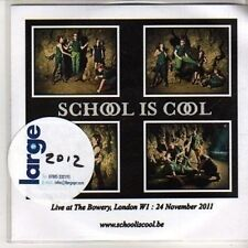 (DB170) School Is Cool, Live at the Bowery, London - 2011 DJ CD