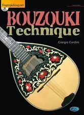 Giorgio cordini Bouzouki tecnica di imparare a giocare Adad TUNING Tutor LIBRO MUSICA
