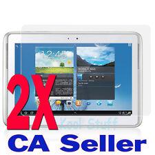 2X Anti-Glare Screen Protector Samsung Galaxy Tab 10.1 Tablet N8000 N8010
