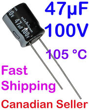 2pcs 47uF 100V 10x12.5mm Nichicon VZ For PC TV AUDIO VIDEO TFT ACL LCD PS DVD
