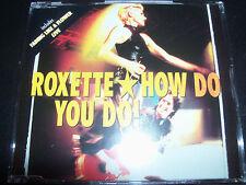 Roxette How Do You Do (UK) CD Single