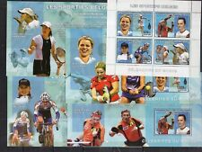 Congo 2006 - Tennis Sport  on postage stamps perf. 5 sheets MNH** - Z12