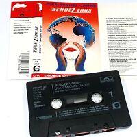 JEAN MICHEL JARRE RENDEZVOUS 1986 CASSETTE TAPE ALBUM ELECTRONIC SYNTH DANCE