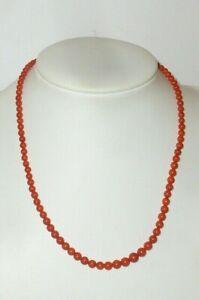 Anciens Coraux Collier de Perles Collier de Corail Pierre Chain