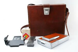 [NEAR MINT] Vintage Polaroid SX70 Land Camera Alpha 1 Brown Leather JAPAN 827085