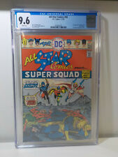 ALL STAR COMICS #58 KEY 1st APPEARANCE POWER GIRL, CGC 9.6 WHITE PAGES