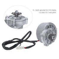 450 W 24 V Réduction de vitesse en métal Brosse électrique Moteur à courant