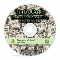 TurboCash, Professional Accounting Software, with Home Office Suite CD F21