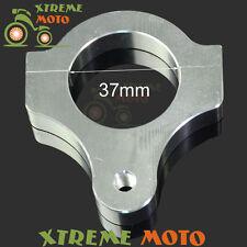 37mm CNC Steering Damper Stabilizer Bracket Fork Tube Mounting Clamp Motorcycle