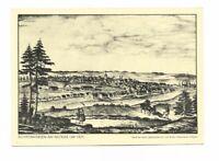 AK, Künstlerkarte von Schwenningen Neckar um 1870, Heimatpostkarte Nr. 36