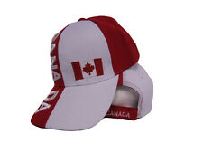 Maple Leaf Canada Canadian Flag Baseball Cap Hat 3D embroidered