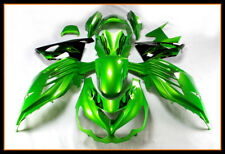 Cowlings For Kawasaki ZX-14R Year 2012 - 2015 ABS Injection Fairings Green Cover