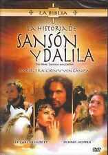 DVD - La Historia De Sanson Y Dalila NEW La Biblia FAST SHIPPING !