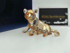Swarovski Figurine 1016678 SCS jeune Tiger 2010. avec boîte & certificat.