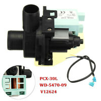 50W 60Hz Washing Machine Drain Pump Motor PCX-30L WD-5470-09 V12624 For Haier