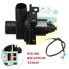 50W 60Hz Washing Machine Drain Pump Motor PCX-30L WD-5470-09 V12624 For Haier