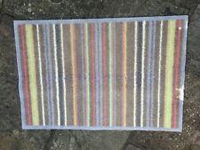 Genuine Turtle Dirt Trapper Mat stripe machine washable 60X85 used