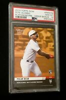 2019 Topps Now Pete Alonso Rc Gold Players Weekend Bonus PSA 10 Gem Mint Rookie