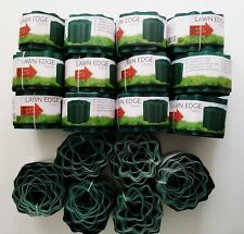lot 18 rouleaux plastique bord bordure pelouse herbe jardin chemin destockage