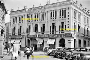 SINGAPORE, Battery Rd, Gian Singh & C0, March 1941  6 x 4 inch