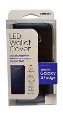 NEW Original Samsung Galaxy S7 EDGE LED Wallet View Cover Case Folio