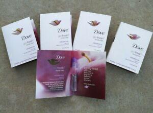 DOVE Go Fresh Body Mist Rebalance Plum & Sakura Blossom Lot of 10 Samples