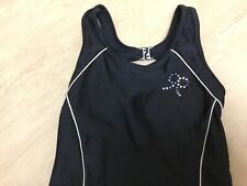 Girls Black Swimming Costume 6-7 years