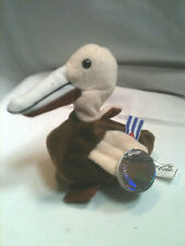 New Coca-Cola Can Cuba Flag Brown Pelican Bird Plush Soft Stuffed 1998