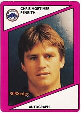 1988 SCANLENS RUGBY LEAGUE #105: CHRIS MORTIMER-PENRITH PANTHERS/BULLDOGS/TEST D